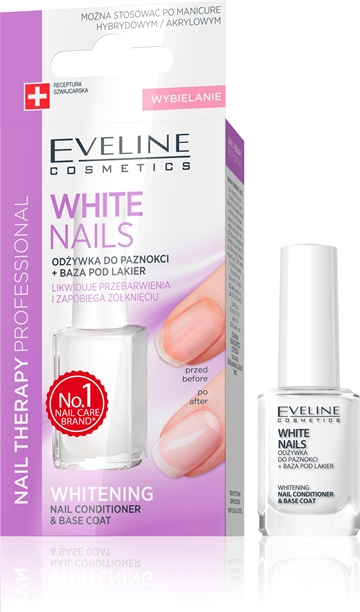 Eveline Spa Nail Instantly Whiter And More Beaut. Nails 12ml