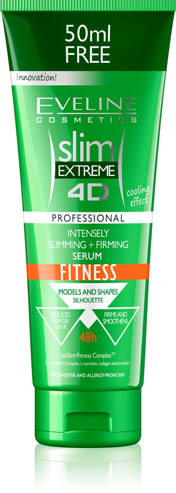 Eveline Slim Extreme 4D Intensely Slim.+ Firming Fitness Serum 250ml