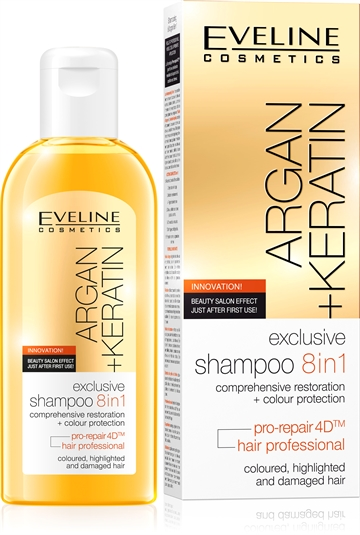 Eveline Exclusive Shampoo 8In1 150ml