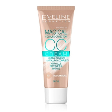 Eveline CC Cream Magical Colour Correction Medium Beige 30ml
