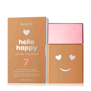 Benefit Hello Happy Soft Blur Foundation SPF 15 30ml nr. 7