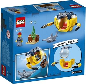 LEGO City Oceans 60263 Mini-ubåd