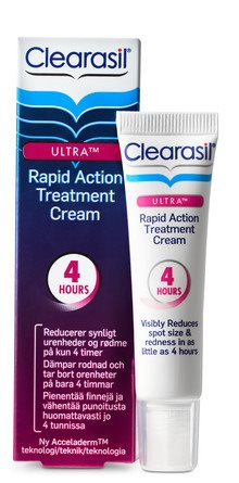 Clearasil Ultra Rapid Action Treatment Cream (15 Ml)