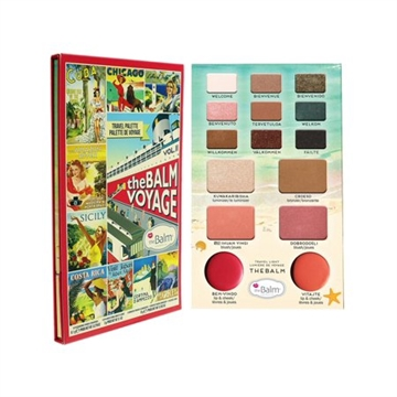 The Balm Travel Voyage Palette 20,9gr Vol. 2