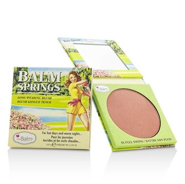 TheBalm - Balm Springs Long Wearing Blush Earthy-rose 5.61g
