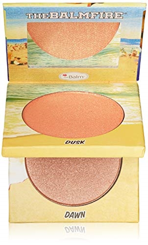 The Balm Balm Fire Shadow/Blush Duo 10gr Balm Fire Night Owl