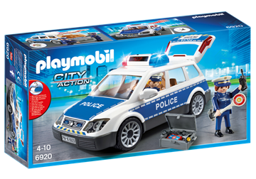 Playmobil Squad Car With Lights And Sound 6920