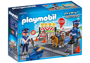 Playmobil Police Roadblock 6924
