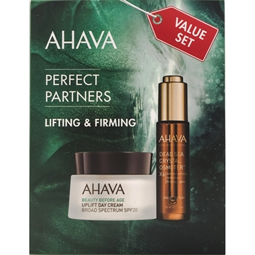 Ahava Perfect Partners Lifting & Firming Value Set 80ml Day Cream 50ml/Facial Serum 30ml