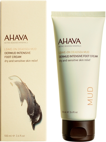 Ahava Deadsea Mud Dermud Intensive Foot Cream 100ml