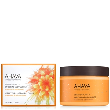 Ahava Deadsea Plants Caressing Body Sorbet Mandarin&Cedarwood 350ml