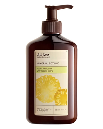 Ahava Mineral Botanic Body Lotion 400ml Tropic Pineapple & White Peach