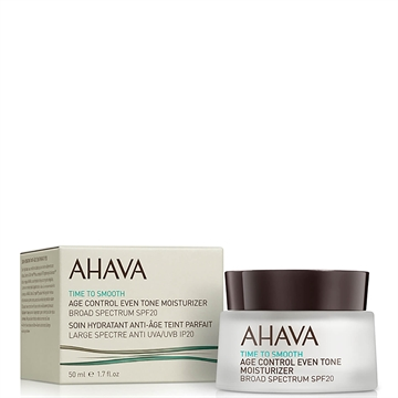 Ahava Time To Smooth Age Control Even Tone Moisturizer SPF 20 50 ml