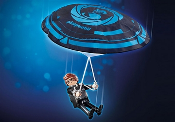 PLAYMOBIL:THE MOVIE Rex Dasher with Parachute 70070