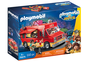 PLAYMOBIL:THE MOVIE Del's Food Truck 70075
