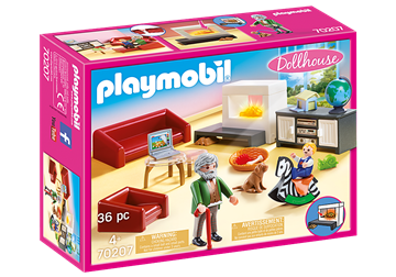 Playmobil Dollhouse Komfortabel Stue 70207