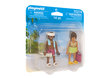 Playmobil Vacation Couple 70274