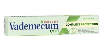 Vademecum Tandpasta Complete Protection med Green Tea & Mint 75 ml
