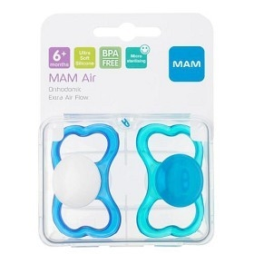 MAM Air 6m+ silk teat box