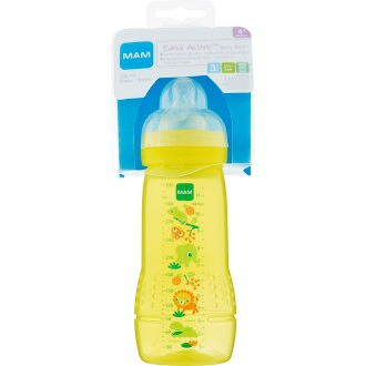 MAM Easy Active Baby Sutteflaske 330ml - Gul