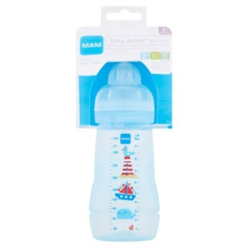 MAM Sutteflaske - Baby Bottle 4m+ (1 x 330ml)