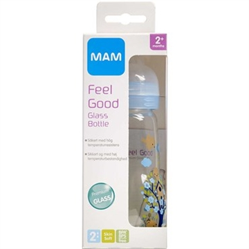 MAM Feel Good Glassutteflaske 260 ml
