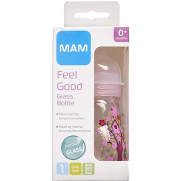 MAM Feel Good Glassutteflaske 170 ml