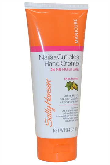 Sally Hansen Nails And Cuticles Hand Creme 96G 24 Hr Moisture With Shea Butter