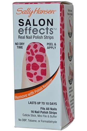 Sally Hansen Salon Effects Real Nail Polish Strips Can^T Be Tamed #03