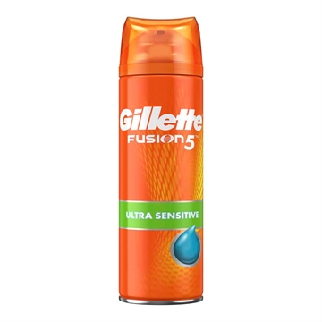 Gillette Fusion 5 shave gel 200ml Ultra sensitive aloe
