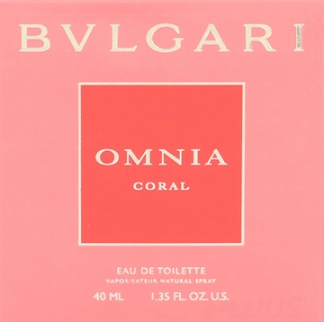 Bvlgari Omnia Coral Eau de toilette Spray 40ml