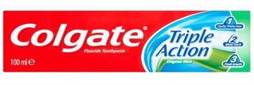Colgate Toothpaste 100ml  Triple Action