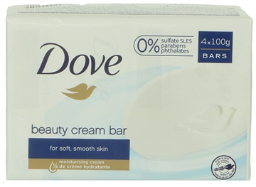 Dove Cream Bar - Beauty 100 gr 4x100