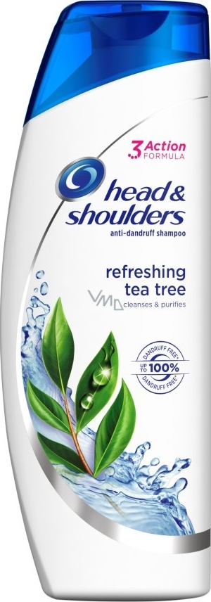 Head & Shoulders anti-dandruff shampoo 400ml Refreshing Green Tea