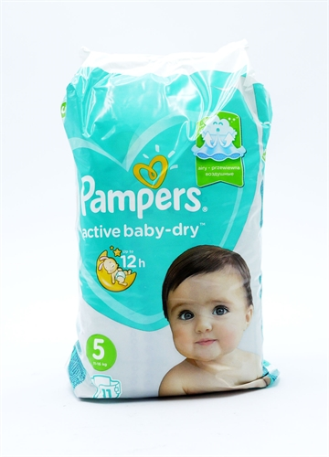 Pampers Diapers Active Fit S5 11'