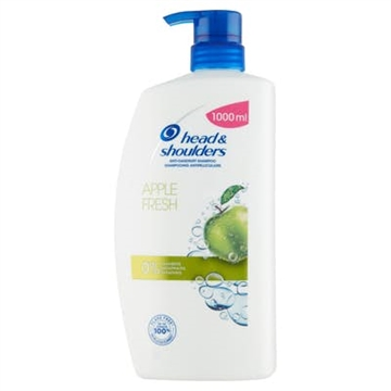 Head & Shoulders Shampoo - Apple Fresh 1000ml