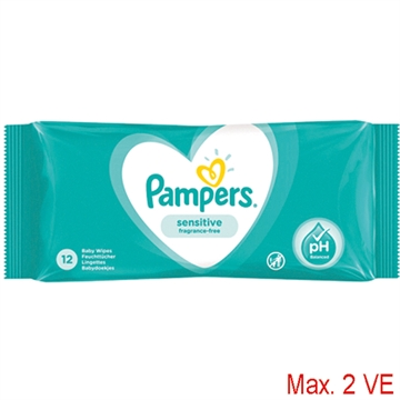 Wet Wipes Pampers 12er Sensitive with Kamille