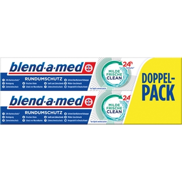 Blend A Med Toothpaste 2X75ml Mild Fresh