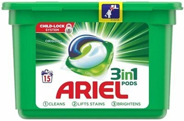 Ariel Touch of Febreze All in One Pods 15'