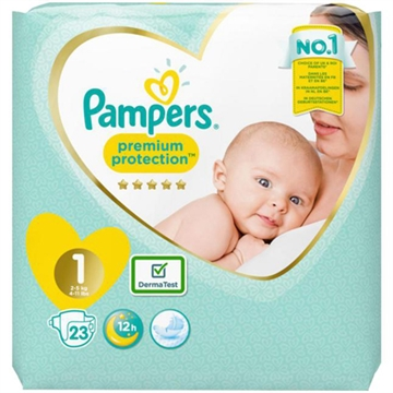 Pampers diapers newborn 2-5kg 26'