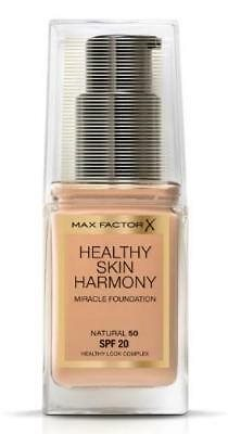 Max Factor HEALTHY SKIN HARMONY Foundation 50 NATURAL