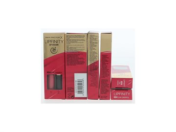 Max Factor Lipfinity Lip Colour 24 Hrs 024 Stay Cheerful - Step 1 2.3 ml/Step 2 1.9 Gr 4,2 ml