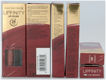 Max Factor Lipfinity Lip Colour 24 Hrs #191 Stay Bronzed 4,2 ml