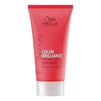 Wella Professionals Brilliance Invigo Brilliance Fine Hair Mask 30ml