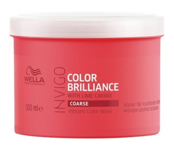 Wella Professionals Brilliance Invigo Brilliance Coarse Hair Mask 500ml