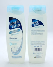 Wash & Go Shampoo Ultra Delicate 400ml