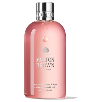 M.Brown Delicious Rhubarb & Rose Bath & Shower Gel 300ml