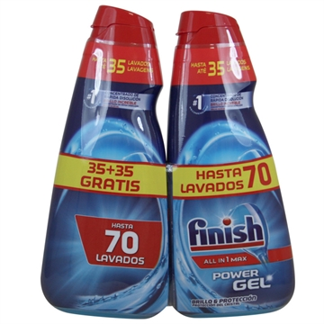 Finish Opvaskegel 2X700ml All In One Shine & Protection