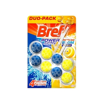 Bref Wc Power Active 2X50g Lemon