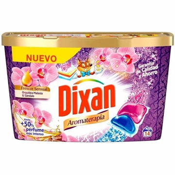 Dixan detergent tabs 14' Aromaterapia